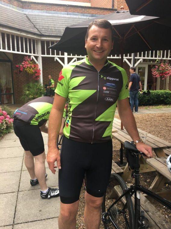 Danny Chaney charity bike ride