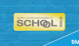 BLU-3 AFFIRMS SUSTAINABILITY SUCCESS WITH  GOLD SUPPLY CHAIN AWARD